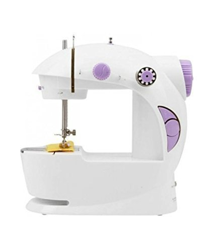 HNESS Multi Electric Mini 4 in 1 Desktop Functional Household Sewing Machine for Home, Sewing Machine for Home Tailoring,Sewing Machine for Hand use,Mini Sewing Machine for Home,Mini Sewing Machine