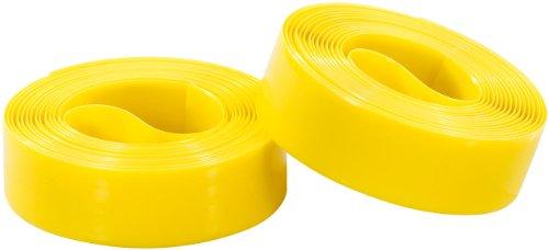 PEARL sports Fahrradreifen Schutz: Pannenschutzeinlage für Fahrradreifen, 19 mm (gelb) (Pannenschutzeinlage Fahrrad)