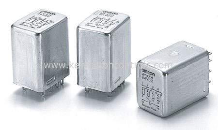 MY4-H 24VDC   MY4H 24DC   154575   OMRON RELAY PLUG IN 14-PIN 4PDT 3A HERMETISCH VERSIEGELT Omron Plug-in