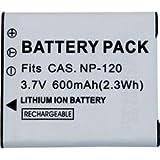 Conrad CASNP120 Lithium-Ion 500mAh 3.7V batterie rechargeable - batteries rechargeables (500 mAh, Lithium-Ion (Li-Ion), 3,7 V, Gris, 1)