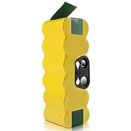 morpilot Batteria di Ricambio Ni-MH 4050mAh 14.4V Compatibile per Aspirapolvere 500 600 700 800 Serie
