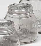 Einkochgläser, 0,75 Liter, 6 Stück