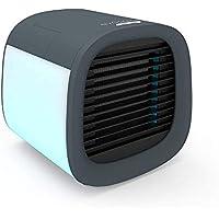 Evapolar evaCHILL Nouveau refroidisseur d'air et humidificateur individuel Climatiseur portable et ventilateur, Gris