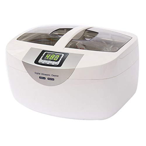 Ultrasonic Cleaner, Professional Industrial 750ml Pulitori Ad Ultrasuoni Riscaldati Con Timer Digitale Per Gioielli Occhiali Lenti Collane Orologi Anelli Monete Per Protesi - 70 W / 40 KHz