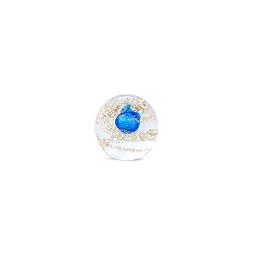 Art Deco Home - Presse-Papier Bleu Cristal 7 cm - 14312SG