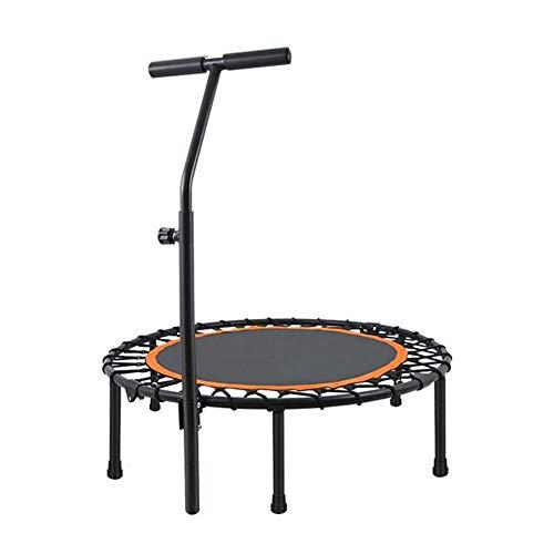 """Mini Trampolin, 40\""""Fitness Gewichtsverlust Cardio Workouts Elastisches Seil Faltbar, Geeignet Für Erwachsene Kinder Indoor Trampolin -Max. Gewicht von 200kg"""