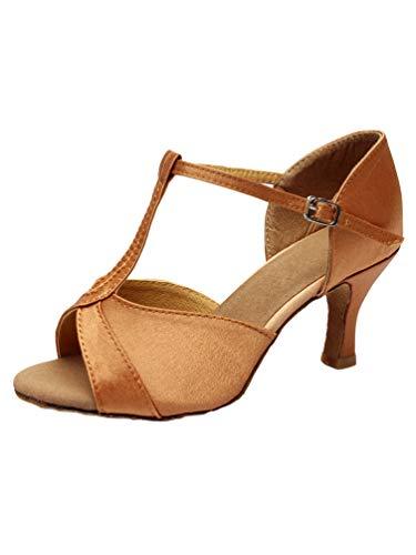 Tookang Mujeres Zapatos Latinos Baile Zapatillas Salón