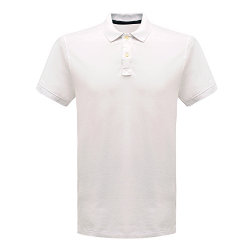 Preisvergleich Produktbild Regatta CLS 65/354x große Classic Polo Shirt–Weiß