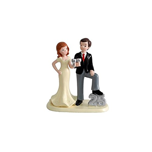 Silver Wedding Figures