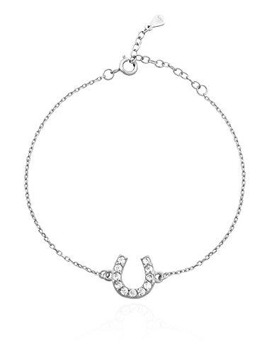 SOFIA MILANI Damen-Armband Hufeisen Glück 925 Silber 30082