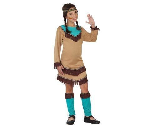Imagen de atosa  disfraz de indio para niña, talla 10  12 años 23799