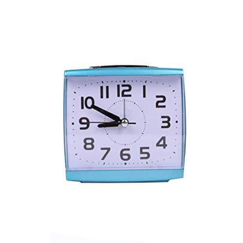 Alarm Clock Kleiner Wecker Stumm Nachtsicht Lampe Student Alte Nachttisch Schlafzimmer Uhr