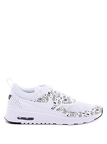 Nike Wmns Air Max Thea Print, Chaussures de Sport Femme, Blanc (Blanc / Blanc-Blanc), 38 EU