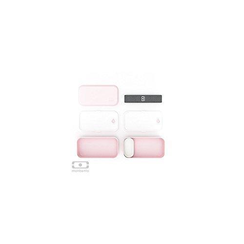 Monbento Bento Box, Lunchbox mit 2 Behältern Litchi - 3