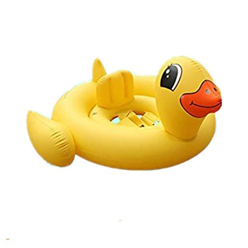 Dewanxin-Zuhause Baby Schwimmen Float Ringe Sicherheits-Badering Sicherheits Hilfe Float Schwimmen Aufblasbare Floatation Ring (Kleine gelbe Ente)