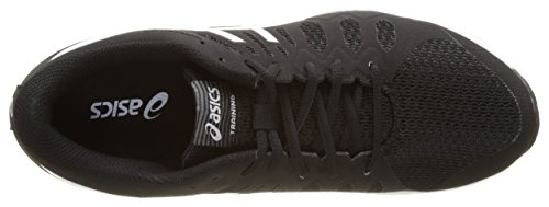 Asics Nitrofuze Tr, Chaussures de Tennis Femme Noir (Black/white/white)