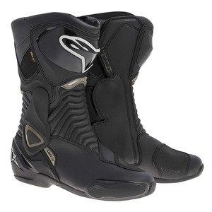 2333014 155 39 - Alpinestars S-MX 6 GTX Motorcycle Boots 39 Black (UK 5)