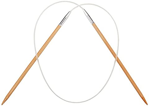 ChiaoGoo Bamboo Circular Knitting Needles 24-inch-Size 13/9mm, Other, Multicoloured