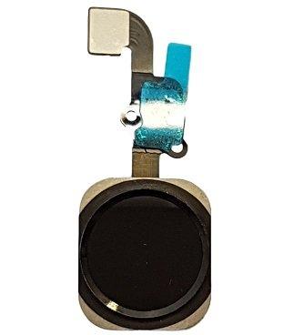 SMARTEX   Bouton Home avec Câble Flex Marque Smartex compatible avec iPhone 6 PLUS – Noir Home Button de