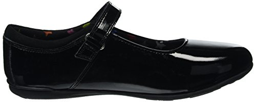 Hush Puppies Eve Snr, Mary Jane fille Noir