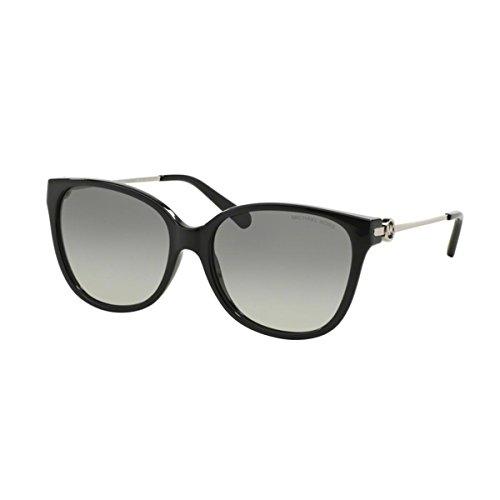 Michael Kors Damen Marrakesh MK6006 Sonnenbrille, schwarz-grau verlauf 300511), Medium (Herstellergröße: 57)