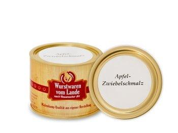 Wiehenkamp – Apfel-Zwiebelschmalz 200g Dose
