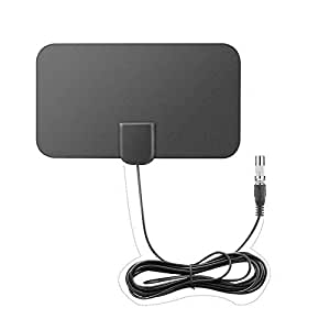Litake 1080P HDTV Antenna with 13ft Long Cable Indoor Amplified 50-Mile Range HD Digital TV Antenna