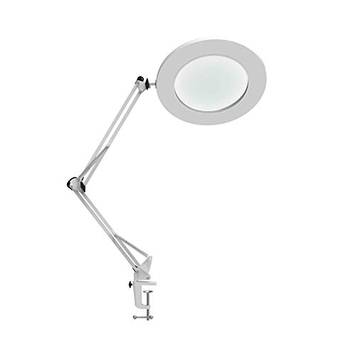 Yooee Lámparas de Mesa Lámpara LED Lupa LED Tabla Lámpara de ...