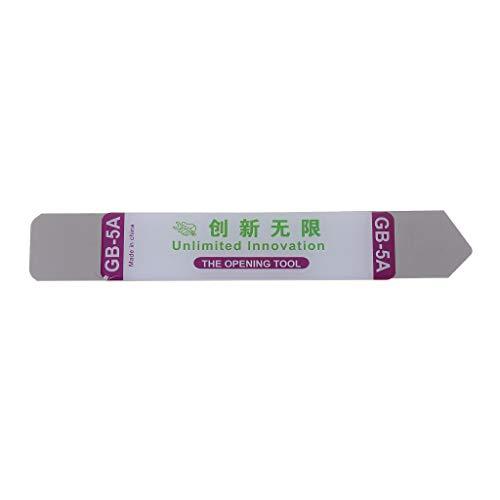 XXguang - Pinza flessibile in acciaio al titanio con lama sottile, per aprire iPhone e iPad