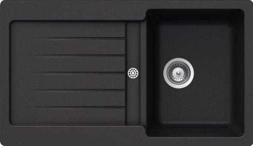 Schock Küchenspüle Typos D-100, Auflage in Nero