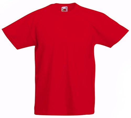 Valueweight T Kids - Farbe: Red - Größe: 104 (3-4)