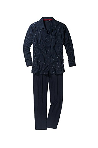 JP 1880 Homme Grandes tailles Pyjama de CECEBA 696977 Bleu Marine