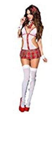HarrowandSmith Frauen 'S SCHOOL Uniform Schulmädchen Kostüm Halloween Fancy Kleid Dessous, UK 6, hs80667