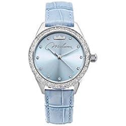 Orologio Miluna Momenti Donna Cristalli Pelle Azzurro ORL1000_A30