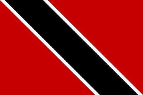 U24 Aufkleber Trinidad & Tobago Flagge Fahne 12 x 8 cm Autoaufkleber Sticker (Trinidad Auto Fahne)