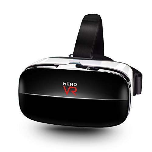 3D Senior VR Headset Passend Für Alle IOS & Android Smartphones ABS-Rohstoff 6,3 in Bildschirm Glas mit Verstellbarem Objektiv und Gurt Für Smartphone Virtual Reality Brillen VR