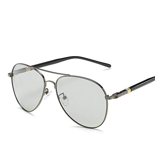 ZJWZ Herren Sonnenbrille Polarized UV 400,Guncolordiscoloration