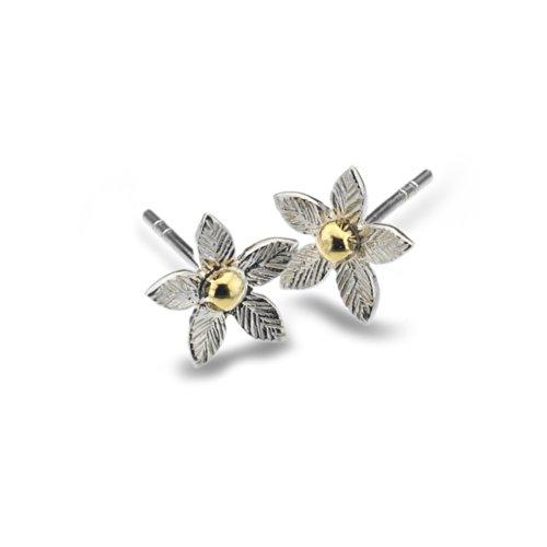 azzaria-argento-orecchini-a-lobo-a-forma-di-fiore-in-argento-e-ottone-diametro-1-cm-in-argento-sterl