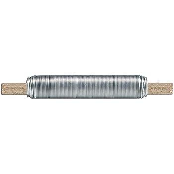 silber 50 m lang rostfrei f/ür Garten D: 1 mm verzinker Stahl Relaxdays Bindedraht im 3er Set d/ünner Basteldraht