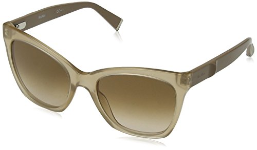 Max mara mm modern iv 9m 213 55, occhiali da sole donna, (oplbeig beige/brown sf)