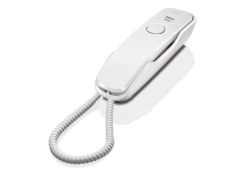 Gigaset DA210 - Teléfono fijo, color blanco