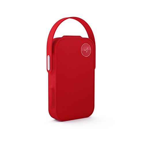 Oferta de Libratone OneClick - Altavoz con Bluetooth y función SoundSpaces, color rojo