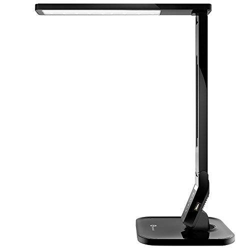 TaoTronics Desk Lamp, LED Desk Lamp with USB Charging Port, 4 Lighting...