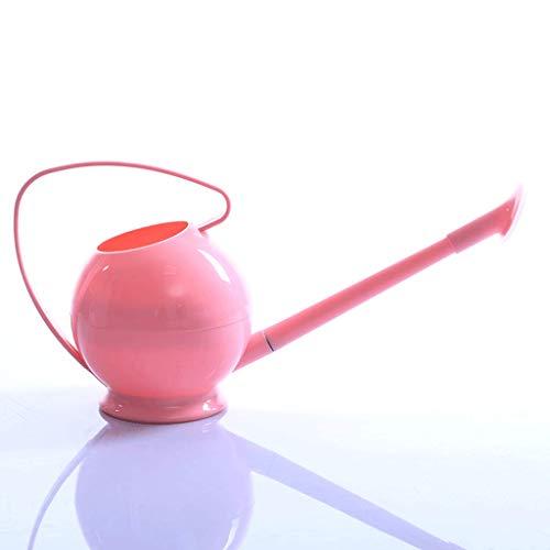Zcx Candy-Farbige Runde Gießkanne Kleine Bewässerung Blume Reinigung Gießkanne