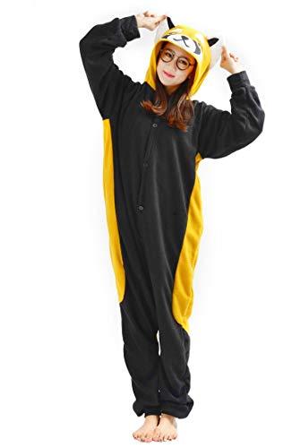 SAMGU Kigurumi Erwachsene Anime Cosplay Adult Tier Onesie Pyjama Schlafanzug Unisex Bear M
