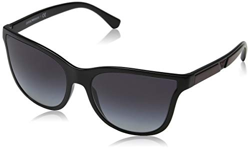 Emporio Armani Damen 0EA4112 Sonnenbrille, Schwarz (Black), 57