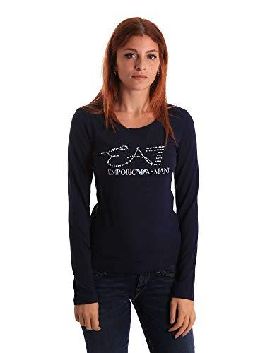 Emporio Armani Ea7 6ZTT84 TJ12Z T-Shirt Frauen Blau M