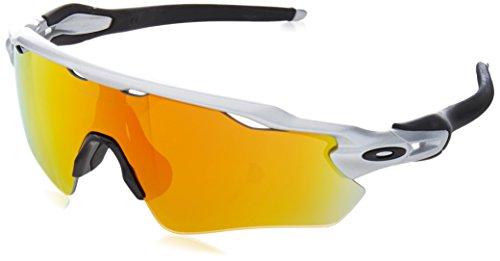 Oakley, Occhiali da sole Radar EV, Argento (Silver), Taglia unica