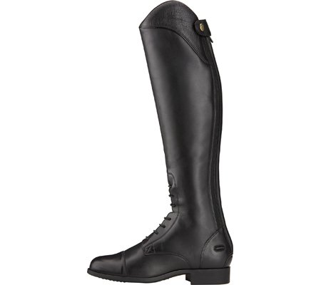 ARIAT Damen Reitstiefel HERITAGE ELLIPSE OSTRICH schwarz Short Regular