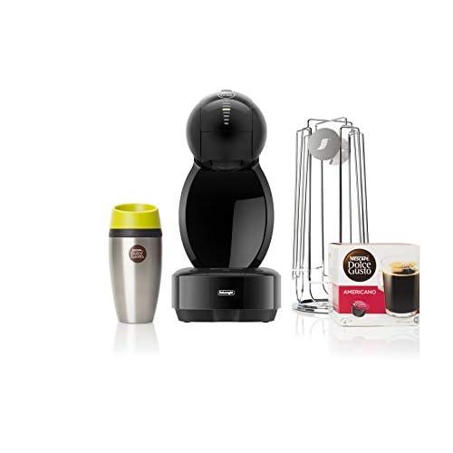 31X8nJQ4R3L. SS500  - De'Longhi Dolce Gusto Colors Coffee Machine Starter Kit, Black